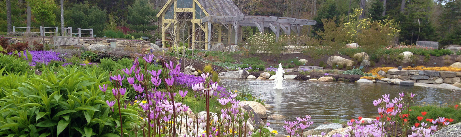 Art And Nature Exhibits Coastal Maine Botanical Gardens