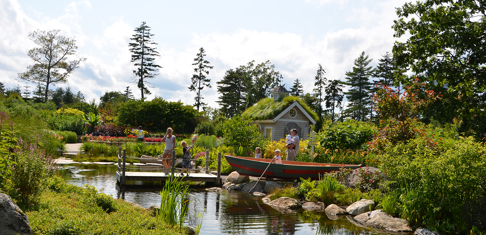 Family Activities Things To Do Coastal Maine Botanical Gardens