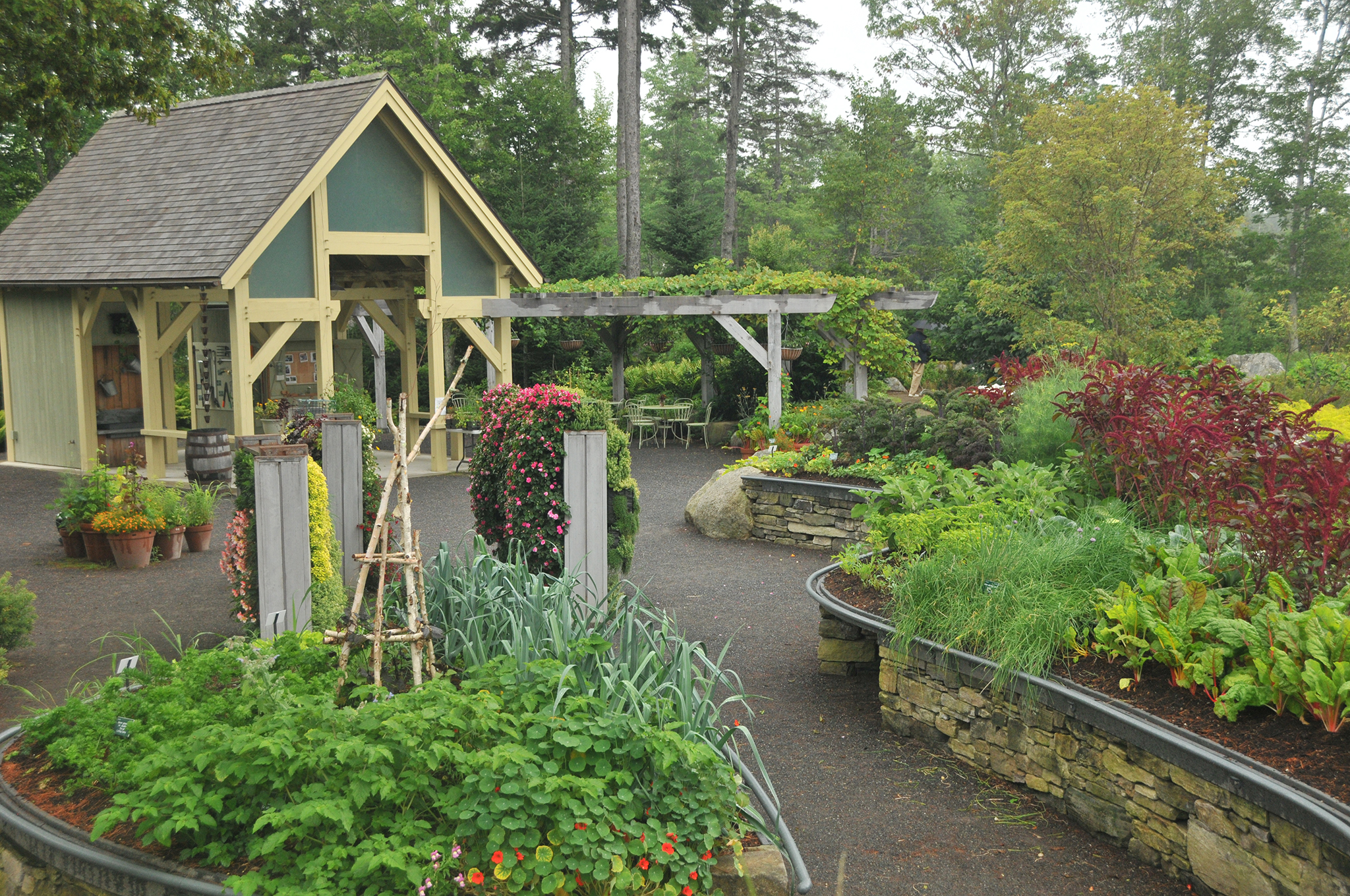Lerner Garden Horticultural Therapy Area